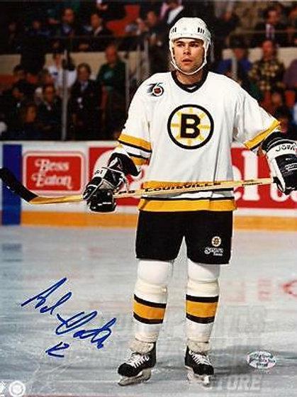 Adam Oates Boston Bruins signed autographed 8x10