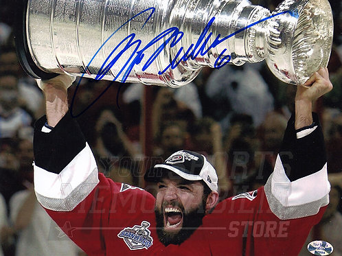 Bret Hedican Carolina Hurricanes Signed Autographed Stanley Cup 8x10