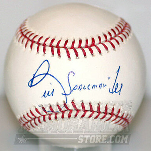 "Bill Lee Red Sox Expos signed baseball "" SPACEMAN """