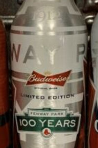 Boston Red Sox Fenway Park 100 Years Limited Edition Full Bottle