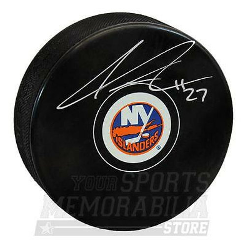 Anders Lee New York Islanders Signed Autographed Islanders Hockey Puck