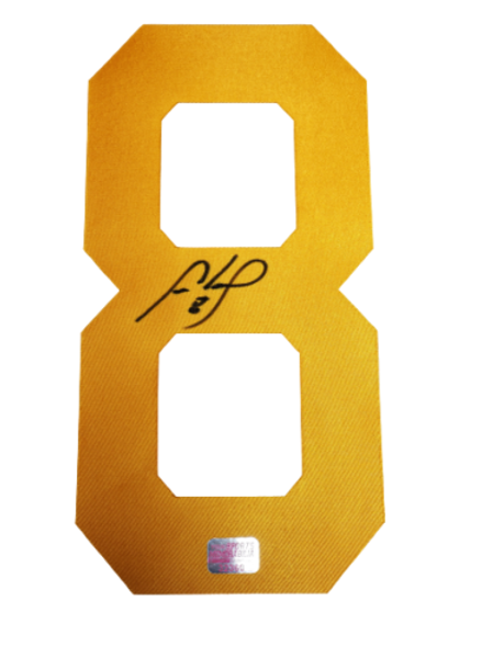 Cam Neely Boston Bruins signed autographed #8 YELLOW Jersey Number only