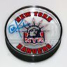 Chris Kreider New York Rangers Signed Rangers Acrylic Hockey Puck Kreider holo