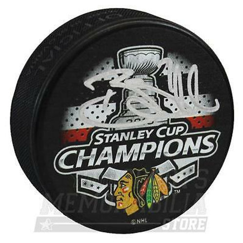 Brent Seabrook Chicago Blackhawks Signed Autographed Stanley Cup Champions Puck