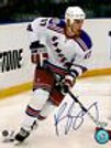 Brandon Dubinsky New York Rangers Signed Autographed Away Jersey Action 8x10