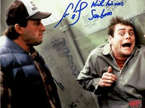 Cam Neely Bruins Signed Inscribed Kick his @$$ Seabass Dumb and Dumber 8x10 A