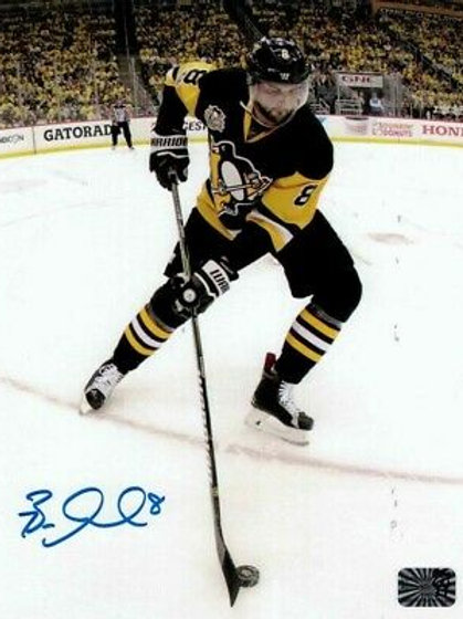 Brian Dumoulin Pittsburgh Penguins Signed Autographed Home Action 8x10