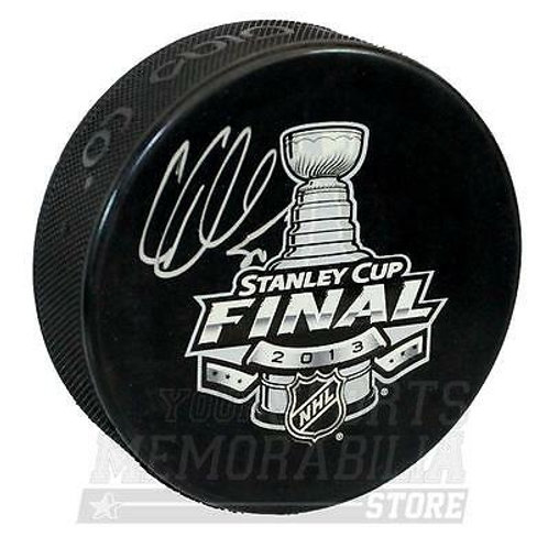 Corey Crawford Chicago Blackhawks Signed Autographed 2013 Stanley Cup Final Puck