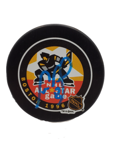 Cam Neely Boston Bruins signed autographed 96 NHL All-Star puck