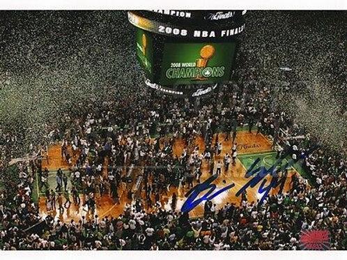 Brian Scalabrine Boston Celtics Signed 2008 World Champions Celebration 8x10