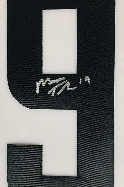 Matt Tkachuk Calgary Flames Signed Autographed Black #9 Jersey Number