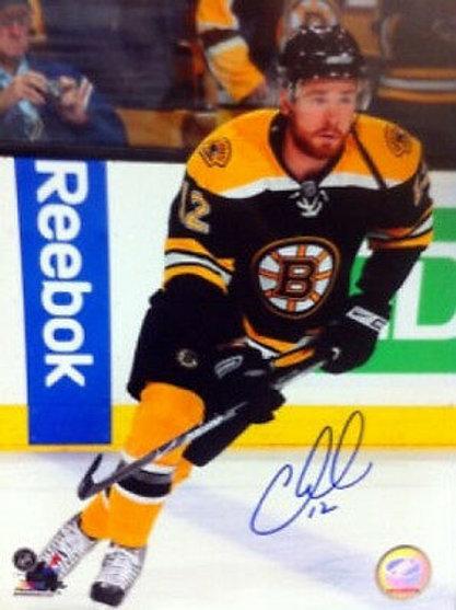 Chuck Kobesew  Boston Bruins signed 8x10