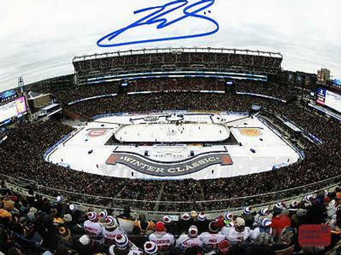 Brendan Gallagher Canadiens Signed Autographed 2016 Winter Classic 8x10