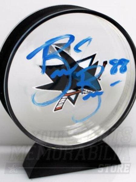 Brent Burns San Jose Sharks Signed Autographed Sharks Acrylic Puck