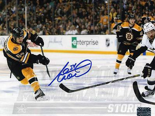 Adam Mcquaid Boston Bruins Signed Autographed Slap Shot 16x20