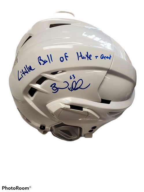 Brad Marchand Boston Bruins signed FULL SIZE inscribed Little ball of Hate/Great