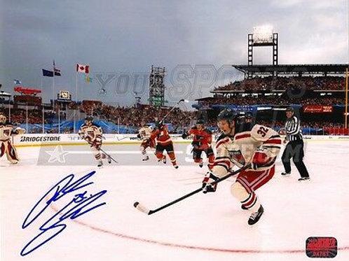 Anton Stralman New York Rangers Signed Autographed 2012 Winter Classic 16x20
