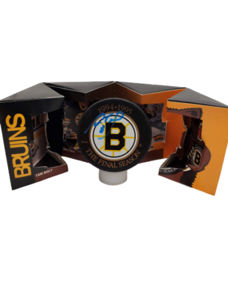 Cam Neely Boston Bruins signed 94-95 Last Game @ Garden puck