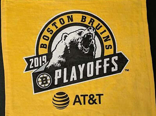 Boston Bruins 2019 NHL Playoffs 1st Round Rally Towel AT&T