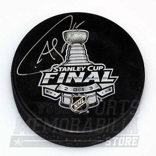 Andrew Shaw Chicago Blackhawks Signed Autographed 2013 Stanley Cup Final Puck