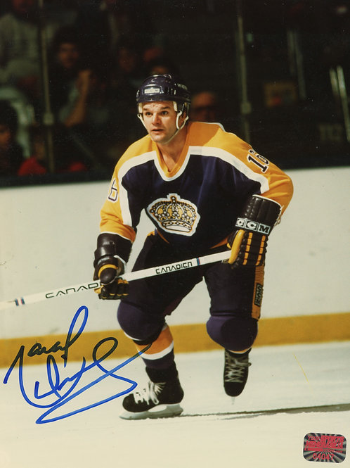 Marcel Dionne Los Angeles Kings Signed Autographed Action 8x10