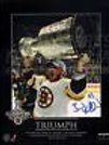 Brad Marchand Boston Bruins Signed Stanley Cup Champions 8x10 Triumph Plaque