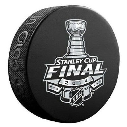 2014 Stanley Cup Final Souvenir Hockey Puck New York Rangers Los Angeles Kings