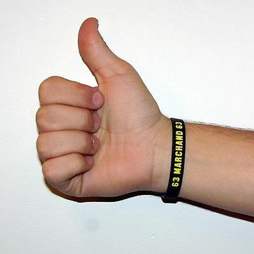 Brad Marchand Boston Bruins Official Black Silicone Bracelet