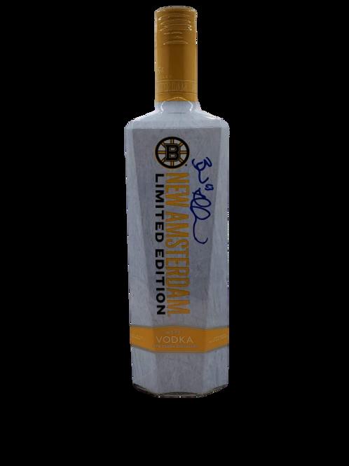 Brad Marchand Boston Bruins signed LE New Amsterdam Vodka bottle