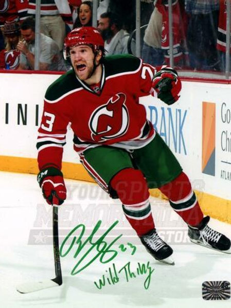 Bobby Farnham New Jersey Devils Signed Autographed Throwback Wild Thing 16x20