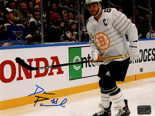 David Pastrnak Boston Bruins Signed Autographed 2020 All-Star 8x10