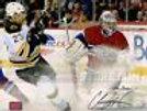 Chris Kelly Boston Bruins Signed 8x10 Snow Spray vs Montreal Carey Price