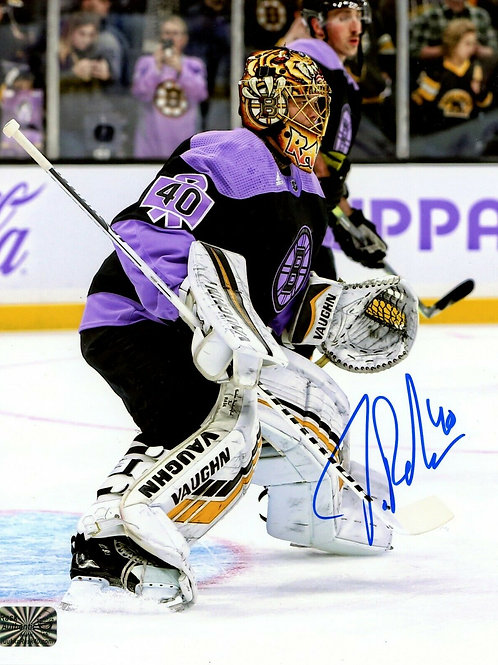 Tuukka Rask Boston Bruins Signed Autographed Hockey Fights Cancer Jersey 8x10