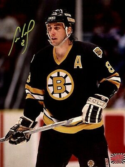 Cam Neely Boston Bruins Signed Autographed Close Up 8x10