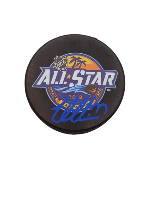 Victor Hedman Tampa Bay Lightning signed 2018 All-Star puck
