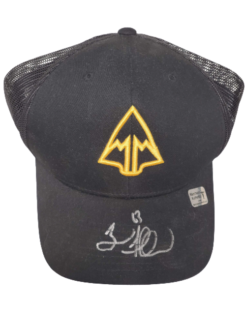 Brad Marchand Boston Bruins signed March & Mill Co. Hat