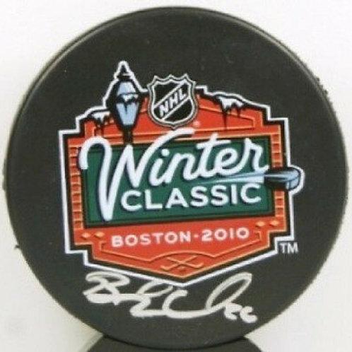 Blake Wheeler Boston Bruins signed Winter Classic puck
