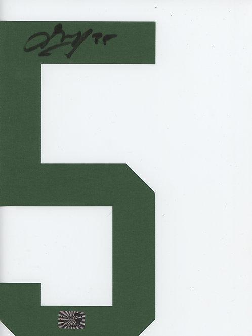 Anton Khudobin Dallas Stars signed Jersey Number #5 Green