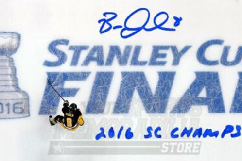 Brian Dumoulin Pittsburgh Penguins Signed Autographed Stanley Cup Finals Pano