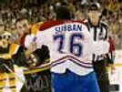 Brad Marchand Boston Bruins Signed fight w/ PK Subban Montreal Canadiens 8x10 B