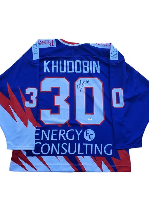 Anton Khudobin Dallas Stars signed Jersey METALLURG MAGNITOGORSK 2006-2007