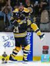 Brad Marchand Boston Bruins Signed Stanley Cup Wild Celebration w/ Ference 8x10