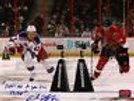 Carl Hagelin New York Rangers Signed 2012 All Star Fastest Skater 8x10 w inscrip
