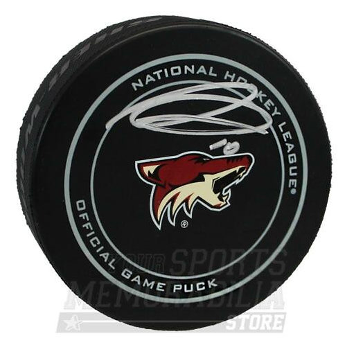 Anthony Duclair Arizona Coyotes Signed Autographed Official Game Puck