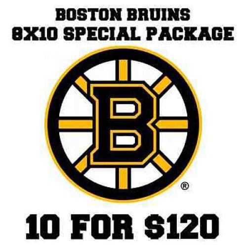 10 Boston Bruins autographed signed 8x10s Tuukka Rask Thornton Krejci  Campbell