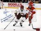 Chris Kreider New York Rangers Signed Boston College 8x10 Kreider hologram B