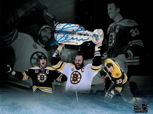 Zdeno Chara Boston Bruins Signed Autographed Montage 8x10