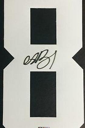 Andrei Vasilevskiy Tampa Bay Lightning Signed Autographed White #8 Jersey Number