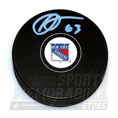 Anthony Duclair New York Rangers Signed Autographed Rangers Hockey Puck - B