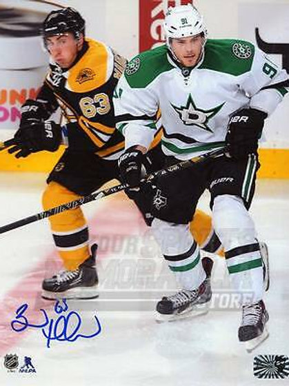 Brad Marchand Boston Bruins Signed Autographed Home Action vs Dallas 8x10 Seguin